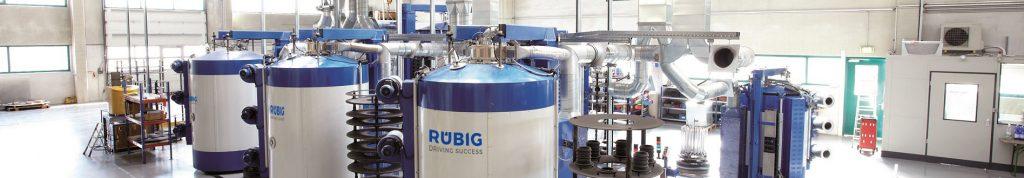 urządzenia do azotowania plazmowego - Rubig