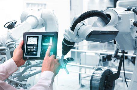 Roboty w branży przemysłowej