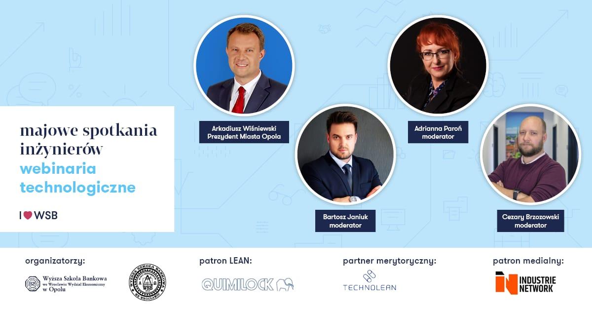 Webinarium Technologiczne Koła Inżynierów WSB Opole